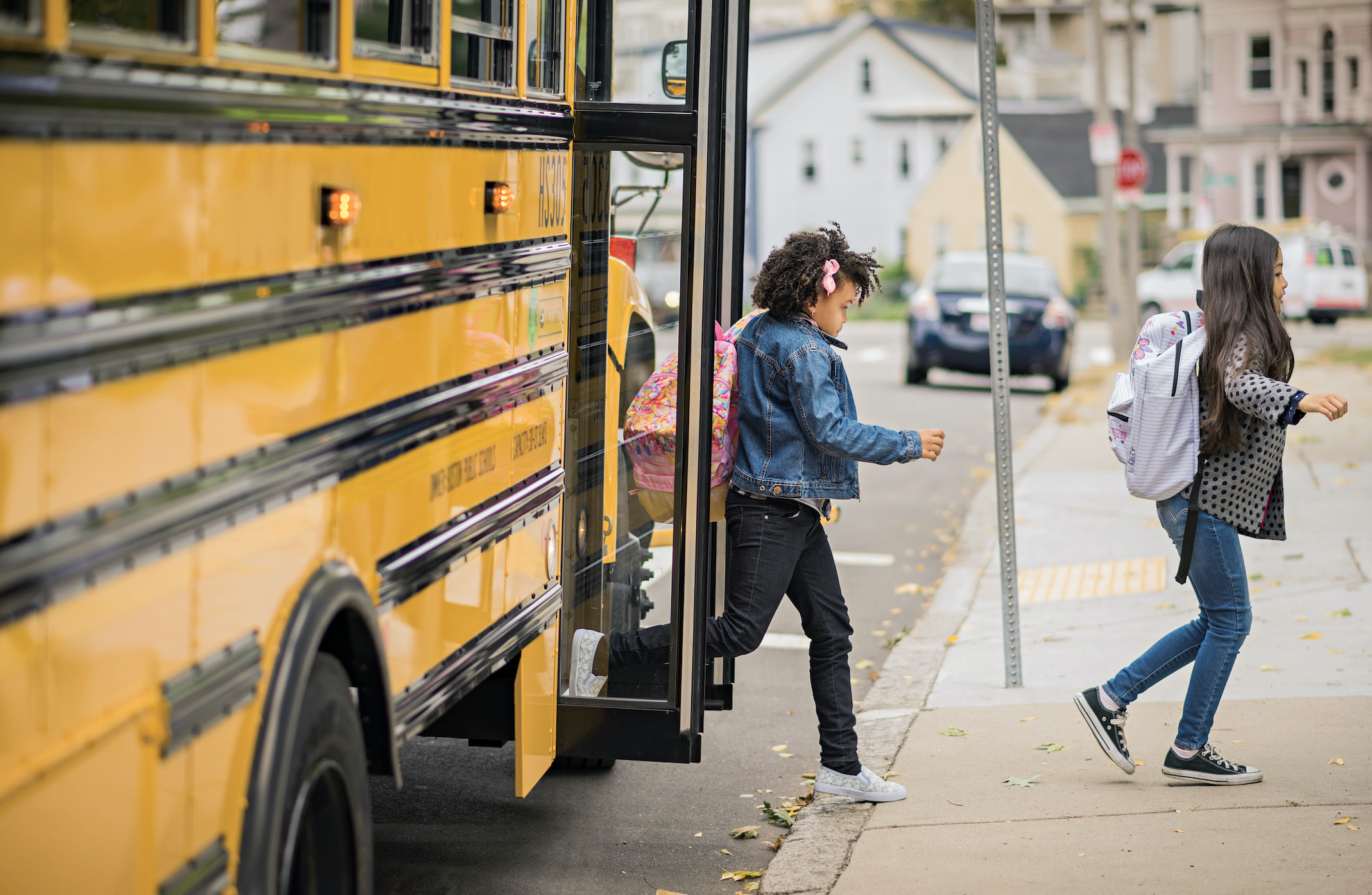Read more about the article Yellow School Buses Going Green