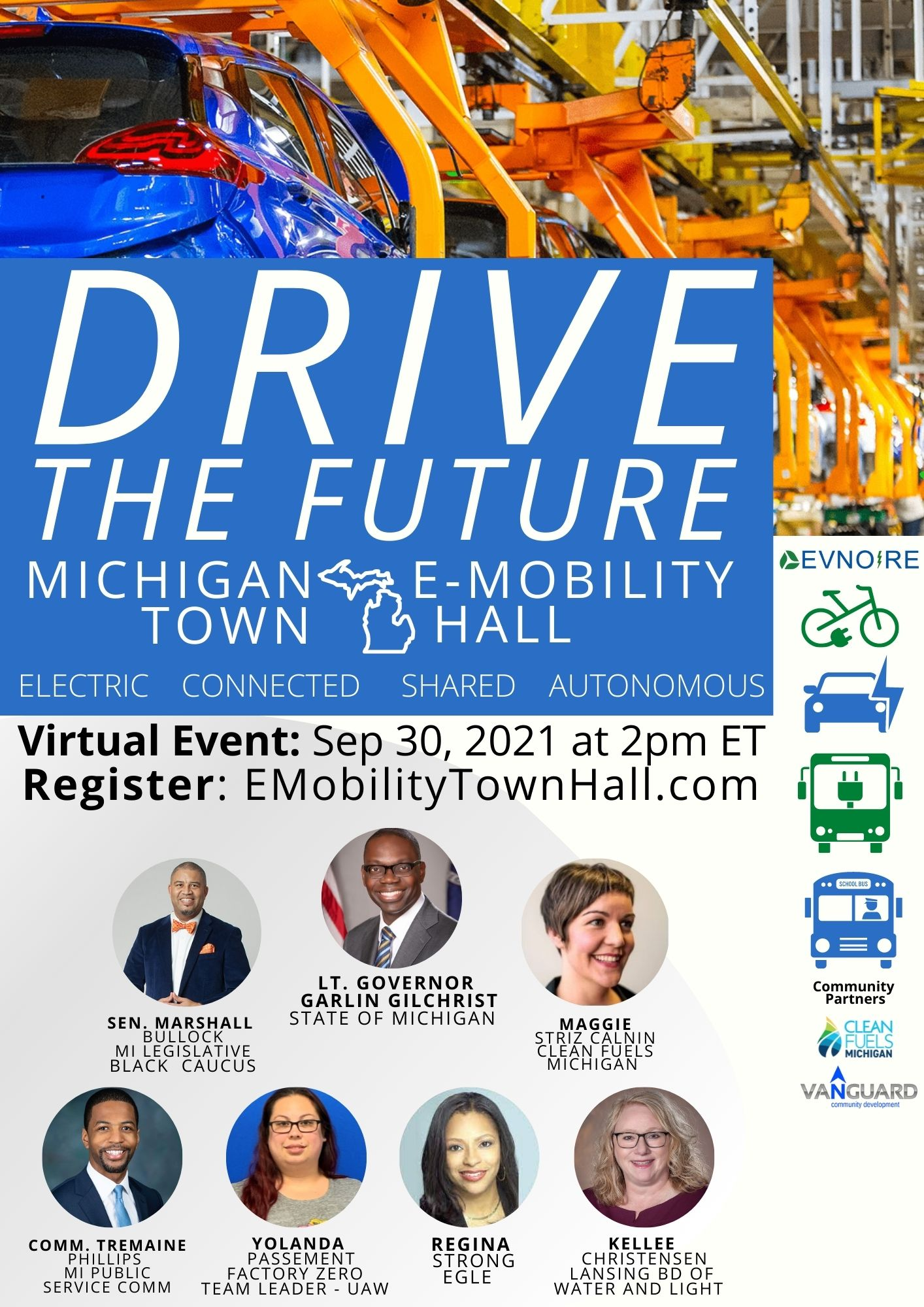 Read more about the article Drive the Future Michigan E-Mobility Town Hall